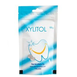 Xylitol with smoke & tar, 100 g to 10 kg.