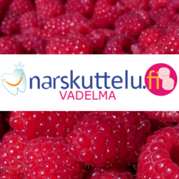 Xylitol with natural rasberry flavor, 100 g to 1 kg.