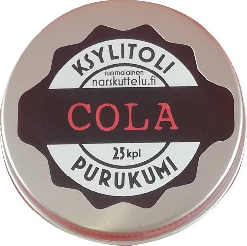 Cola chewing gum 25 pieces
