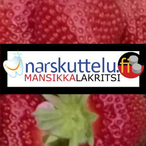 Xylitol with natural strawberry-liquorice flavor, 100 g to 10 kg.